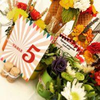 Numéro de table mariage Guinguette La Crafterie