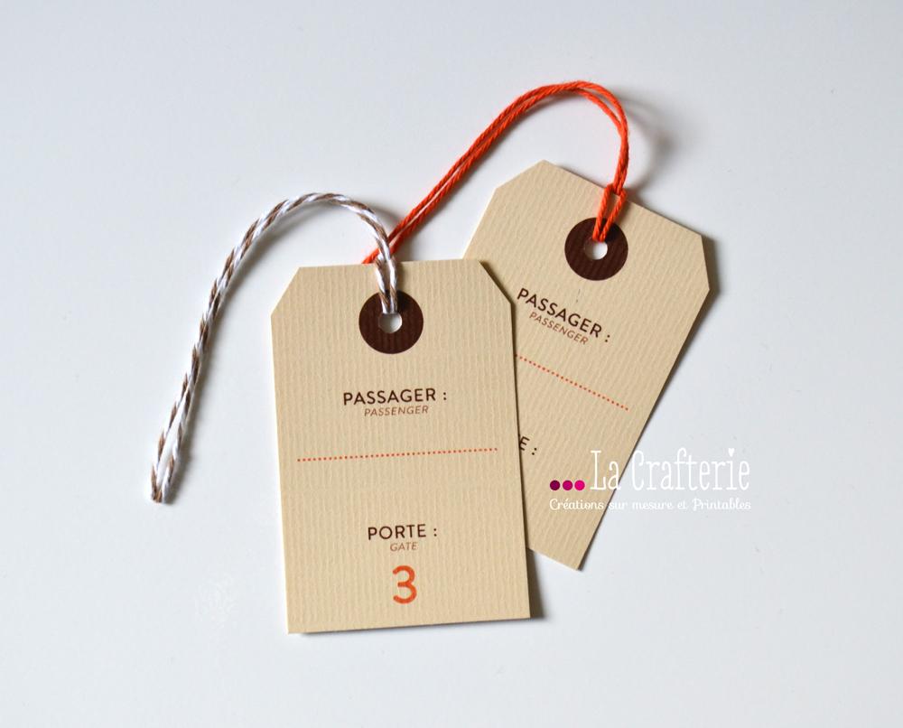 Très Etiquette Bagage Mila – La Crafterie CK12