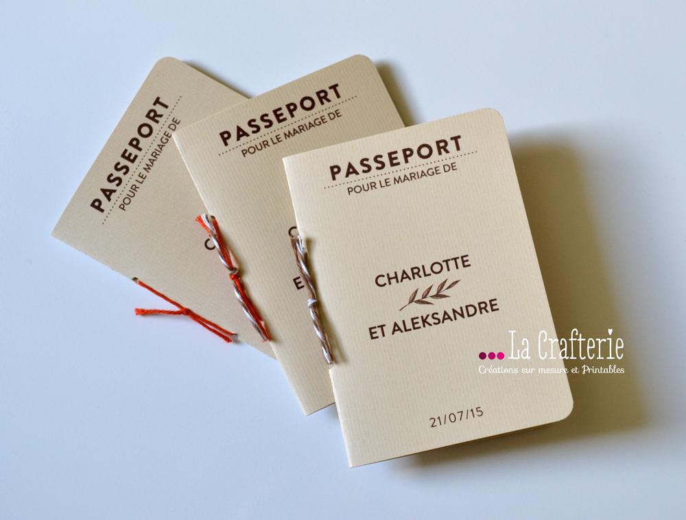 Connu DIY Faire-Part Passeport Mila – A IMPRIMER – La Crafterie PH21