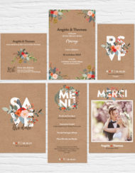 Collection Mariage Slubna Pop | La Crafterie