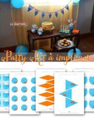 Gratuit ! Kit décoration d'anniversaire à imprimer