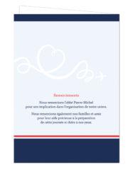 Couverture Livret de cérémonie de mariage, Couverture Livret de cérémonie de mariage, thème voyage