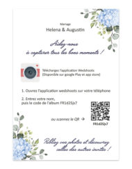 Carte instructions WedShoots