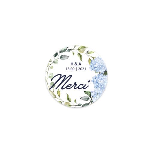 Sticker personnalisé, cadeau de mariage