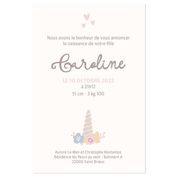 faire-part-naissance-licorne-verso