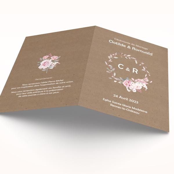 couverture-livret-ceremonie-slubna-rose