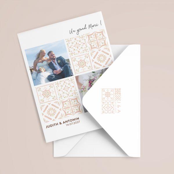 carte-remerciement-mariage-morocco
